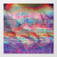 23-18-45 (Acid Rain Bed … Canvas Print