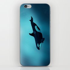 Lost in Serenity ~ Orca ~ Killer Whale iPhone & iPod Skin