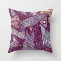 - batpunk - Throw Pillow