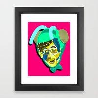 Yoo Jae-Seok/유재석. Framed Art Print