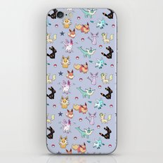 Eeveeloution Pattern iPhone & iPod Skin