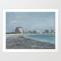 Revere Beach 1 Art Print