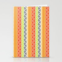 Pattern Series 094 Triba… Stationery Cards