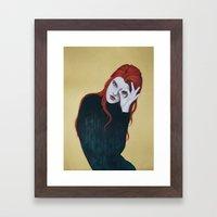 Le 3ème Oeil Framed Art Print