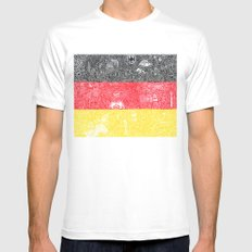 Made In Germany White SMALL Mens Fitted Tee