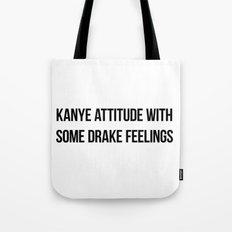 Attitude and Feelings Tote Bag