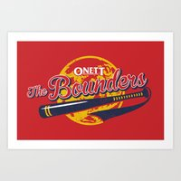 The Bounders Art Print