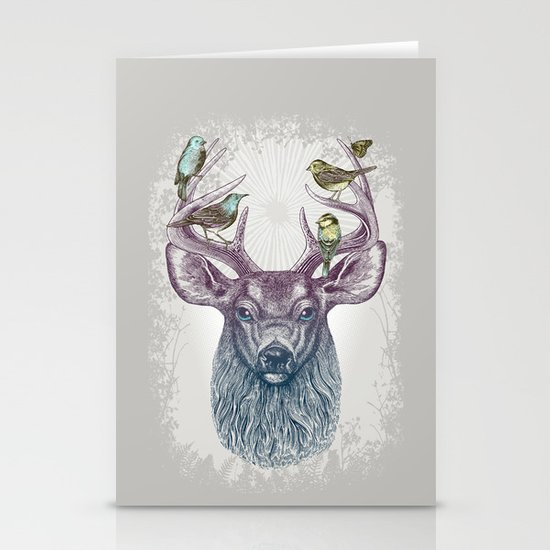 Magic Buck Stationery Card