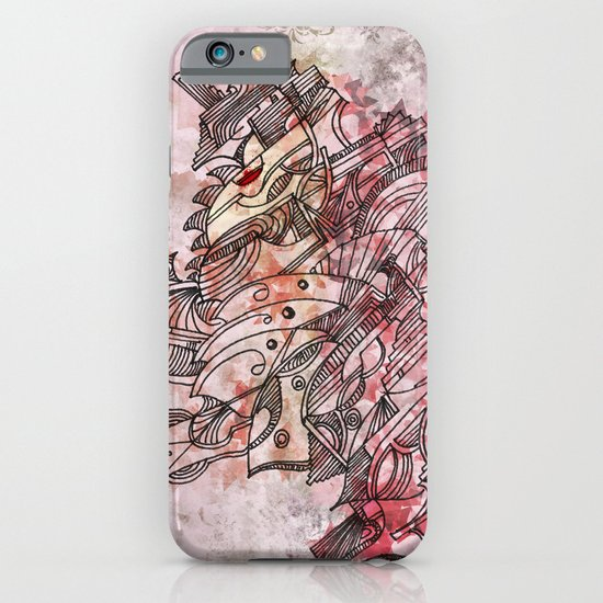 The Robot who melted the Moon iPhone & iPod Case