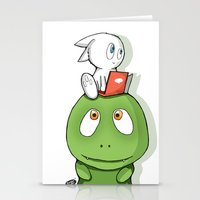 A Friend and A Dream Stationery Cards