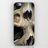 Skull Melt iPhone & iPod Skin