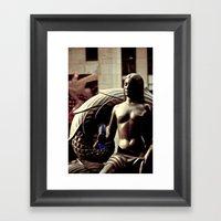 Rockefeller Beauty Framed Art Print