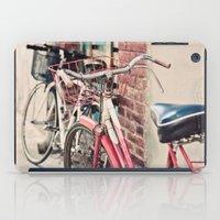Bicycles iPad Case