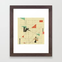 Pull The Strings Framed Art Print