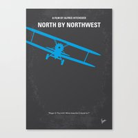 No535 My North By Northw… Canvas Print