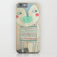 iPhone & iPod Case featuring cat by Berreca