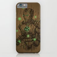 iPhone & iPod Case featuring Wooden Man by Patrick Zedouard c0y0te7