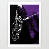 Kobe Over Wallace Art Print