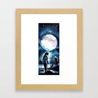 Twelfth Night - Viola Shipwrecked - Shakespeare Illustration Art Framed Art Print