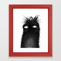 The Stare Framed Art Print