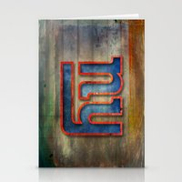 New York Giants Stationery Cards