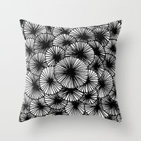 Pinwheels Throw Pillow