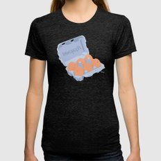 S6 Tee Womens Fitted Tee Tri-Black SMALL