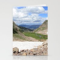 August Snow Stationery Cards