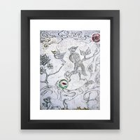 Dharma Tree Framed Art Print