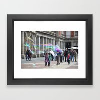 madrid-life Framed Art Print
