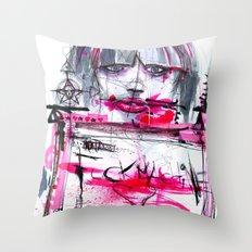 Fuck Machine Throw Pillow