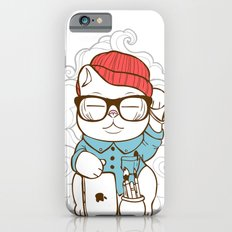 Hipster Kitty Slim Case iPhone 6s