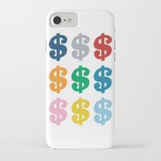 Colourful Money iPhone 7 Slim Case