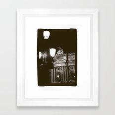 Paris Opera Framed Art Print