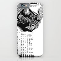 iPhone & iPod Case featuring scientist by Chuchuligoff