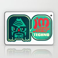 I'm Into Techno Laptop & iPad Skin