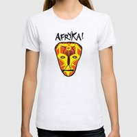 Afryka! Womens Fitted Tee Ash Grey SMALL