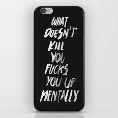 Mentally, alternative iPhone & iPod Skin