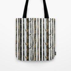 Woodland Stripe Tote Bag