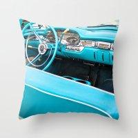 Timeless Turquoise Throw Pillow