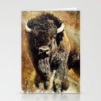 Rustic Buffalo Stationery Cards