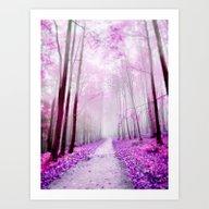 Pink Dreaming Art Print