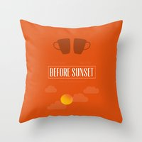 Before Sunset Throw Pillow