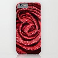 Raindrop Rose iPhone 6 Slim Case
