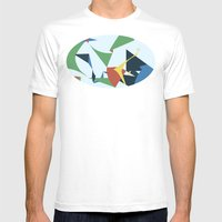 Folds Mens Fitted Tee White SMALL
