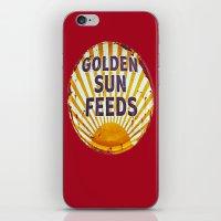 Golden Sun Feeds iPhone & iPod Skin