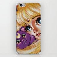 Sailor Moon and Luna iPhone & iPod Skin