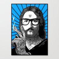 Jesus Bane #02 Canvas Print