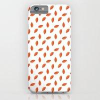 Orange Leaves iPhone 6 Slim Case