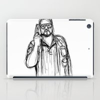Walter Sobchak iPad Case